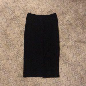 American Apparel skin-tight pencil skirt.